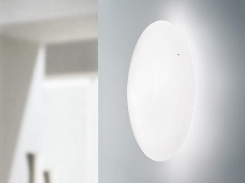 Blown glass wall light SABA AP by Vetreria Vistosi