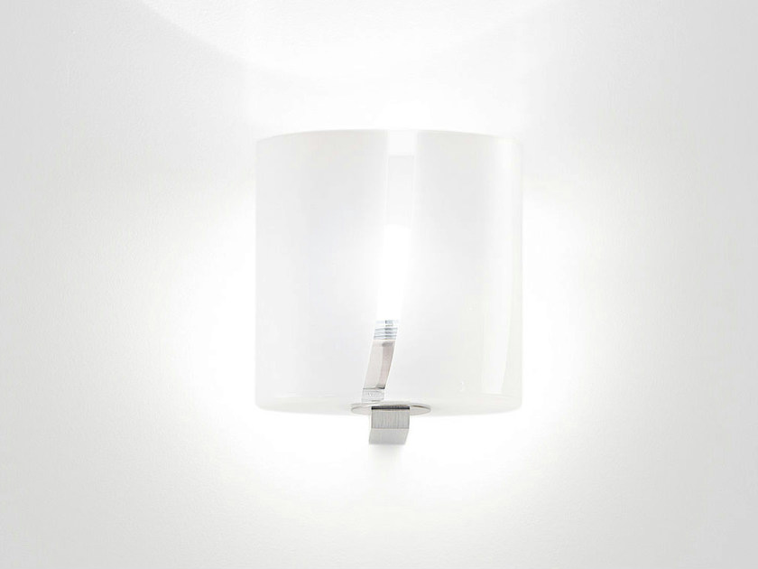 Blown glass wall lamp SEGRETO AP by Vetreria Vistosi