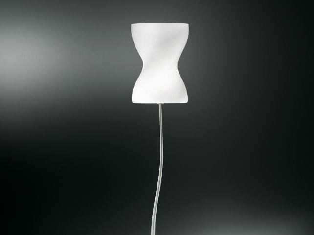 Indirect light blown glass floor lamp CORPETTO   Floor lamp by Cattaneo