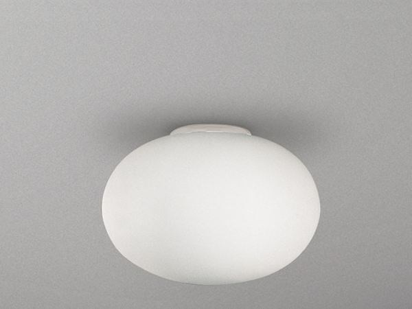 Indirect light satin glass ceiling light BIANCOLATTE | Ceiling light by Cattaneo