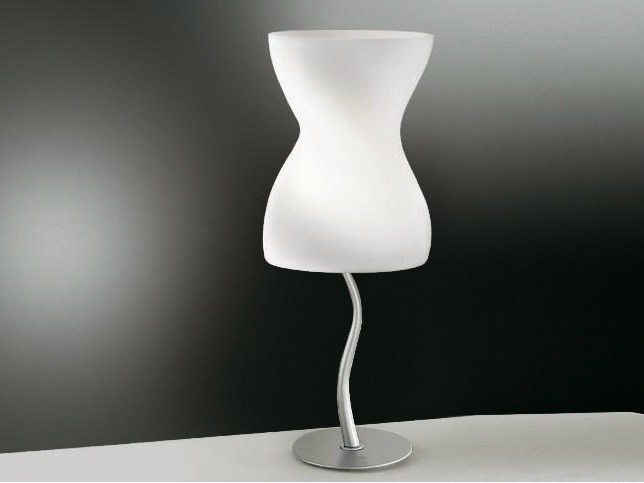 Blown glass table lamp CORPETTO   Table lamp by Cattaneo