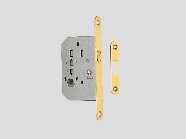 Brass sliding door lock Sliding door lock by Frascio