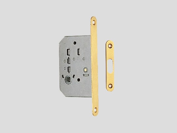 Brass lock for folding door Brass lock by Frascio