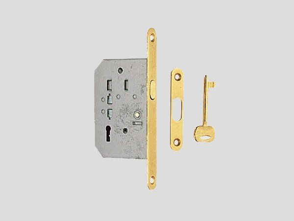 Brass sliding door lock Sliding door lock by Frascio