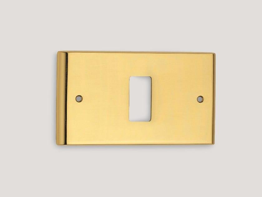 Brass wall plate 775 | Wall plate by Frascio