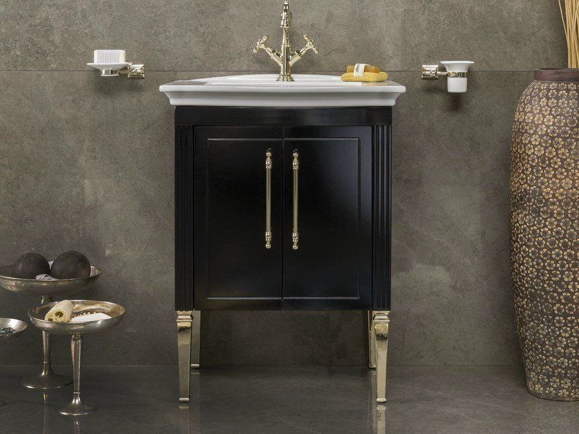 Single Vanity Unit With Doors DECO By BLEU PROVENCE