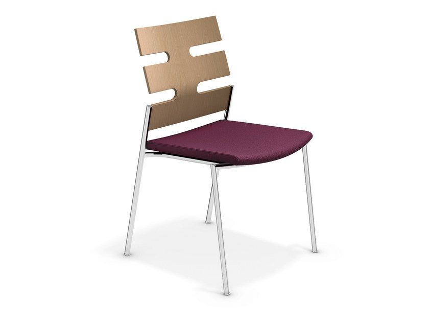Fabric chair KEEP MOVING | Chair by Casala
