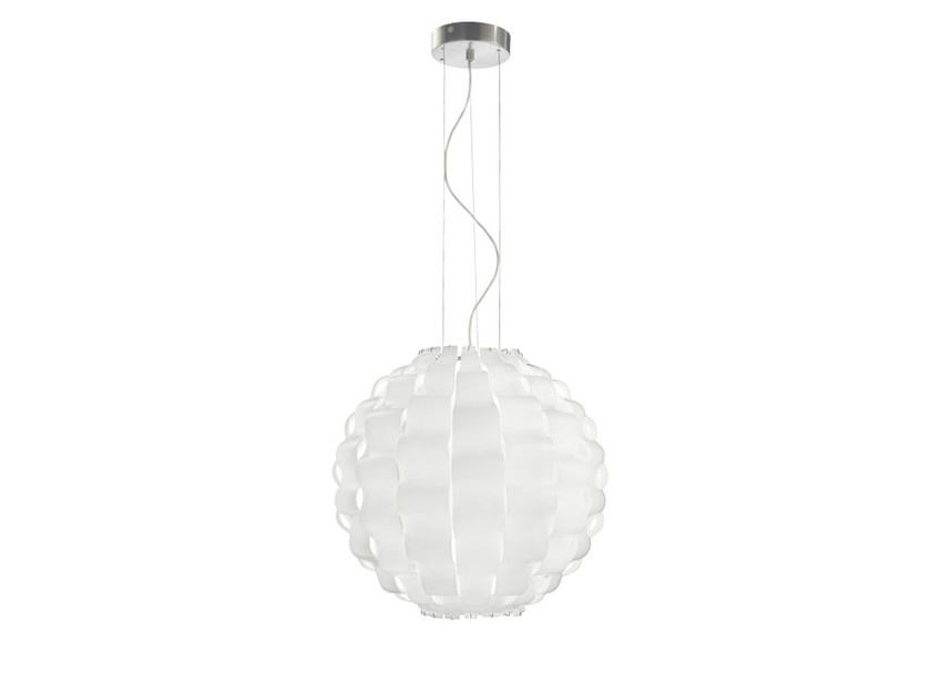 Glass pendant lamp TAHOMA ROUND SP by Vetreria Vistosi