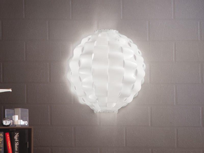 Glass wall lamp TAHOMA ROUND PP by Vetreria Vistosi