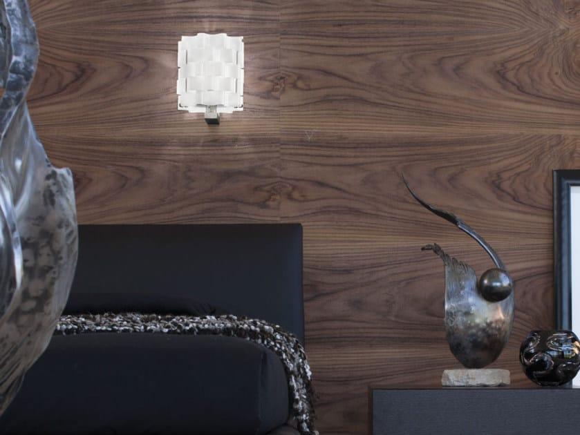 Glass wall lamp TAHOMA AP by Vetreria Vistosi