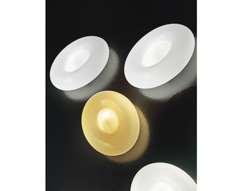 Glass wall light SPROUT AP by Vetreria Vistosi
