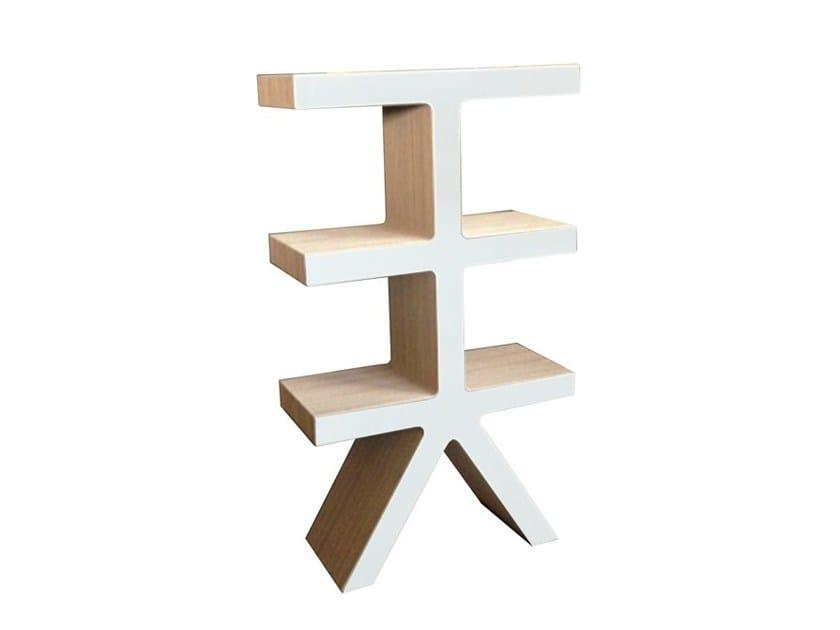 Freestanding kraft paper bookcase TREE by Staygreen