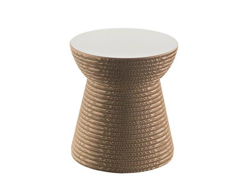 Kraft paper stool CORK by Staygreen