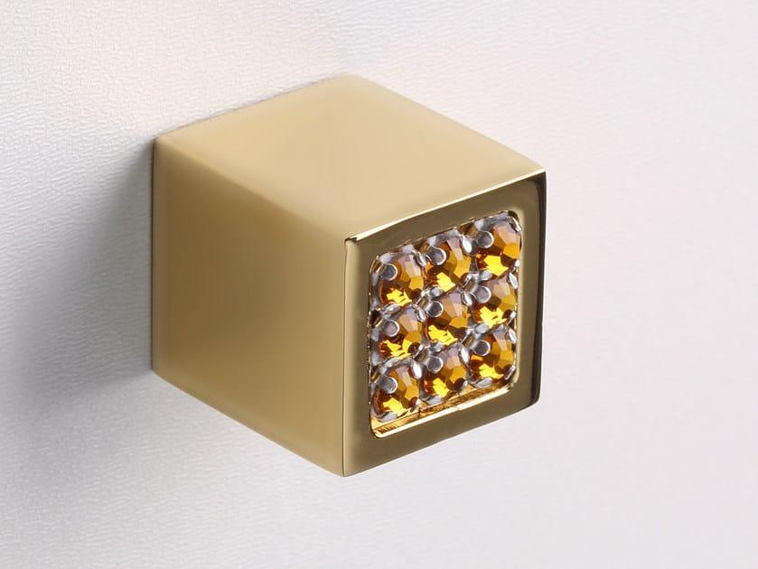 Inoxbrass furniture knob SPARKLE SUITE | Furniture knob by Frascio