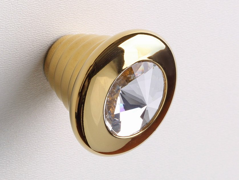 Inoxbrass furniture knob SPARKLE SUITE | Furniture knob by Frascio