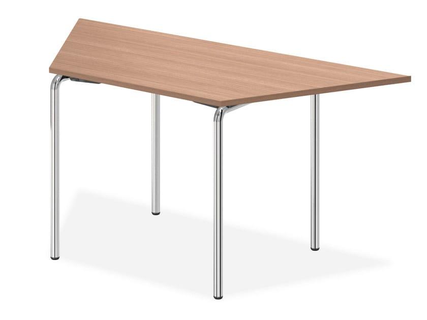 Modular wooden bench desk LACROSSE I | Wooden bench desk by Casala