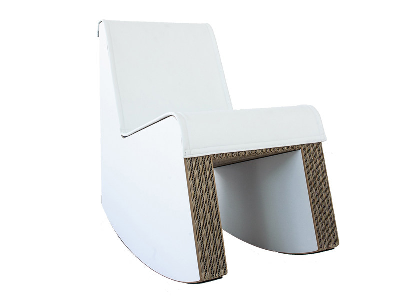 Rocking kraft paper armchair SWING by Staygreen