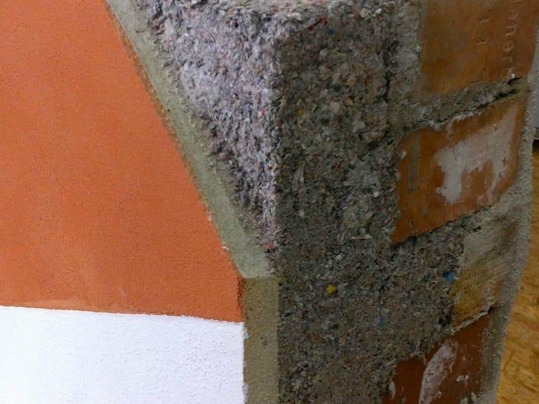 Cappotto interno traspirante antimuffa di cellulosa e calce CLIMACELL® INSIDE by Climacell