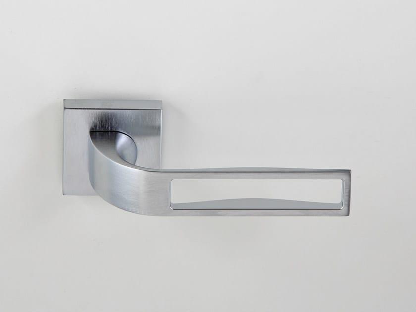 Metal door handle on rose JAM | Door handle by Frascio & JAM | Door handle By Frascio pezcame.com