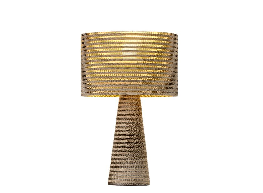 Kraft paper table lamp MISHA mod A by Staygreen