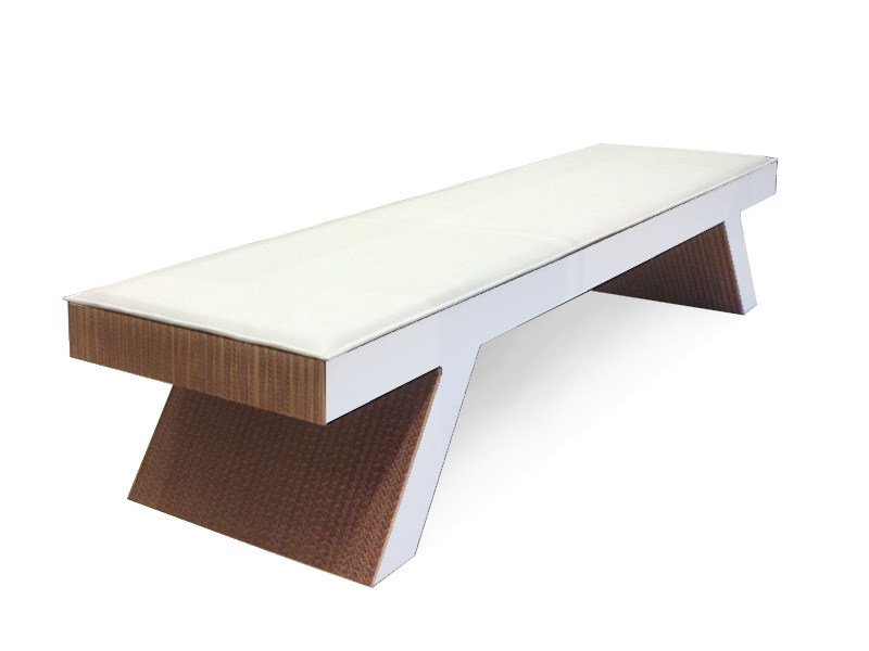 Kraft paper bench TWIGGY by Staygreen