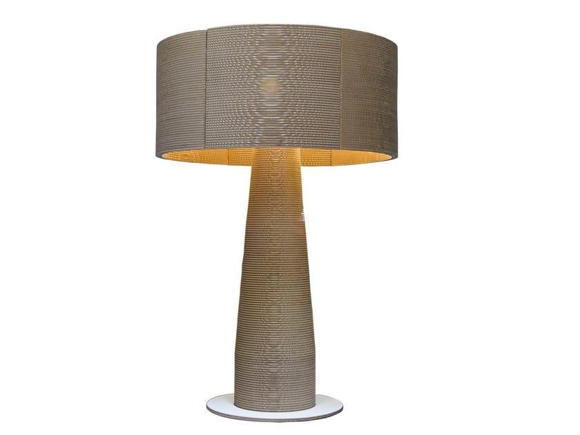 Kraft paper floor lamp MARILYN by Staygreen