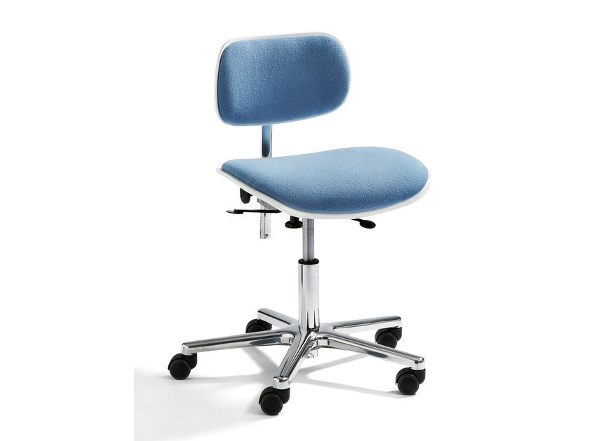 Height-adjustable task chair S 197 R | Task chair with castors by WILDE+SPIETH