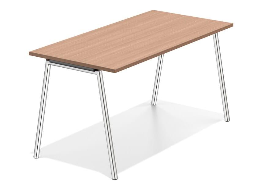 Wooden bench desk LACROSSE III | Bench desk by Casala