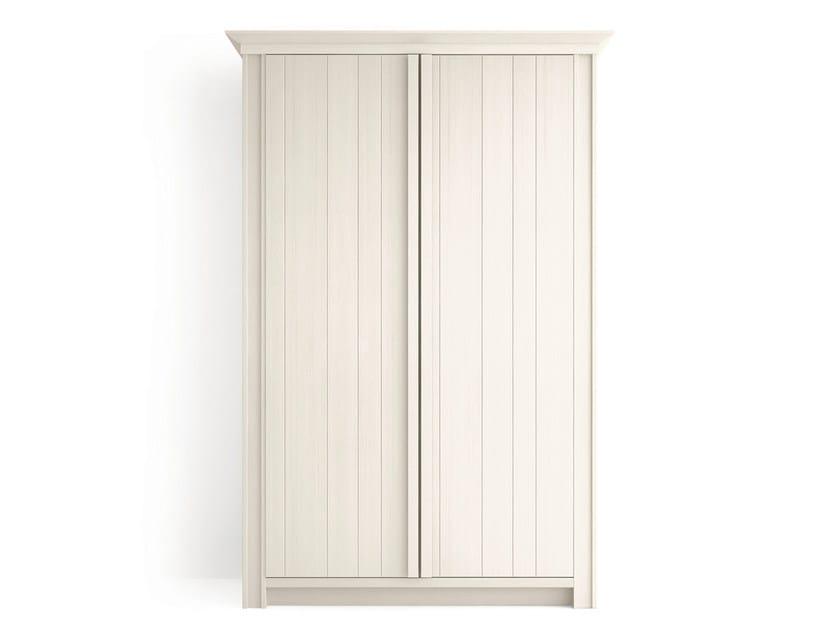 Wooden wardrobe MAESTRALE | Wardrobe by Scandola Mobili
