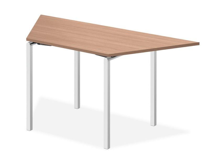 Modular wooden bench desk LACROSSE V | Modular bench desk by Casala