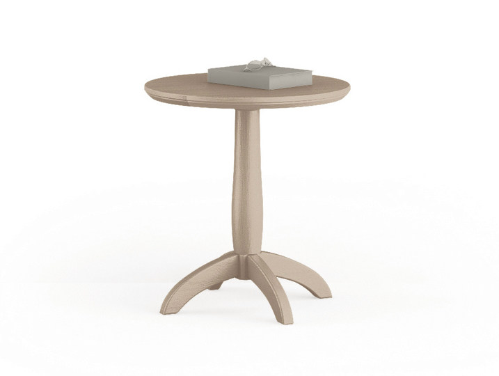 Round wooden coffee table for living room Coffee table for living room by Scandola Mobili