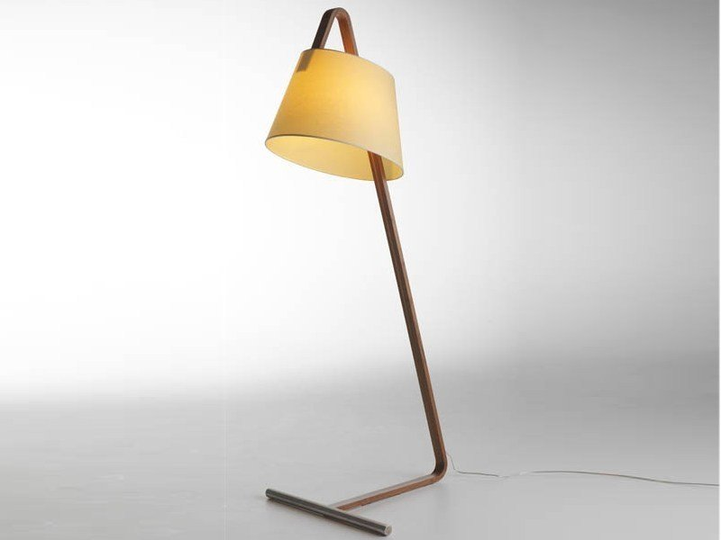 LED floor lamp NUMERO 3 by Casamania & Horm