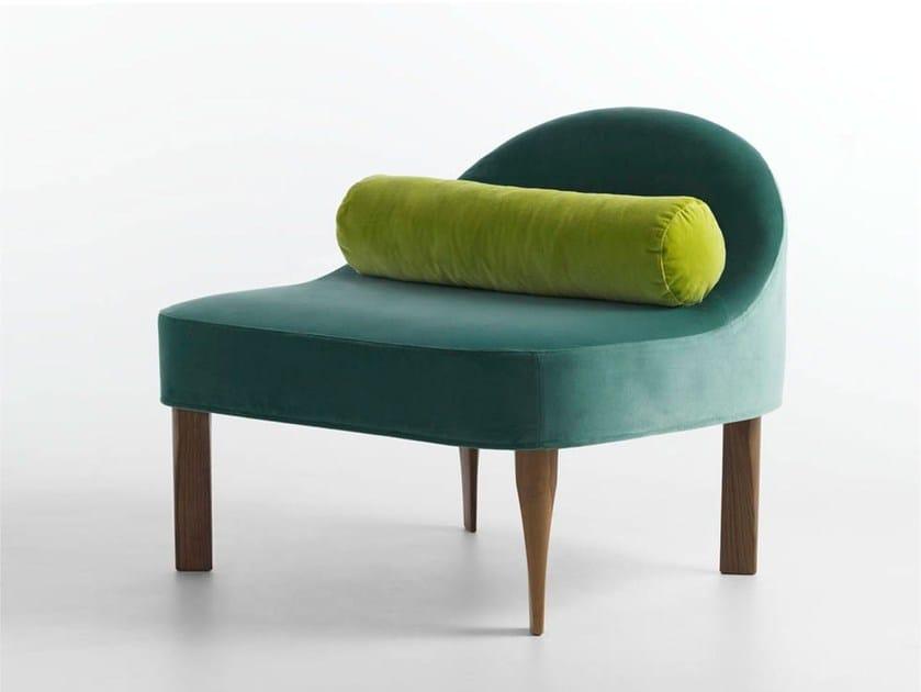 Fabric easy chair BLA by Casamania & Horm