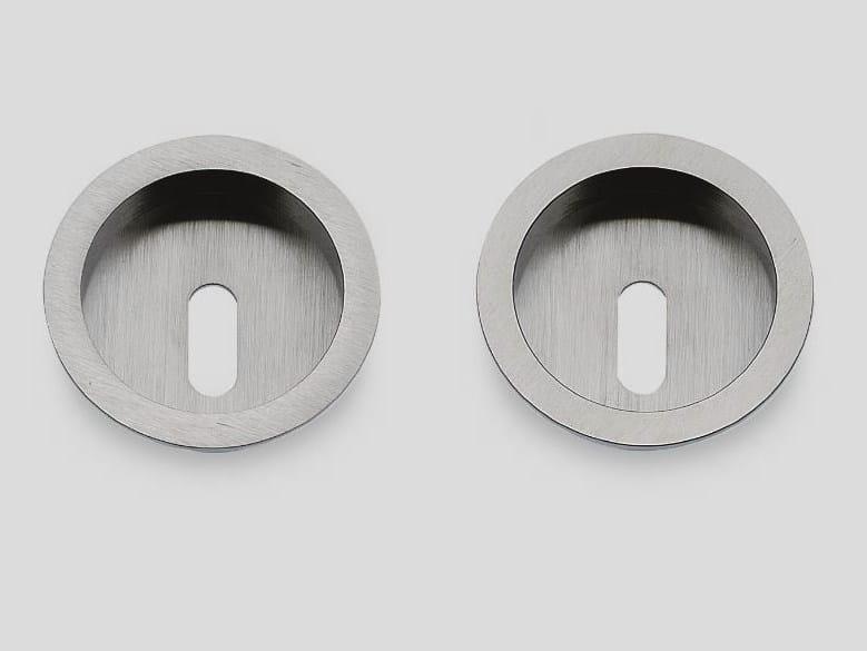 Recessed brass door handle KIT B by Frascio