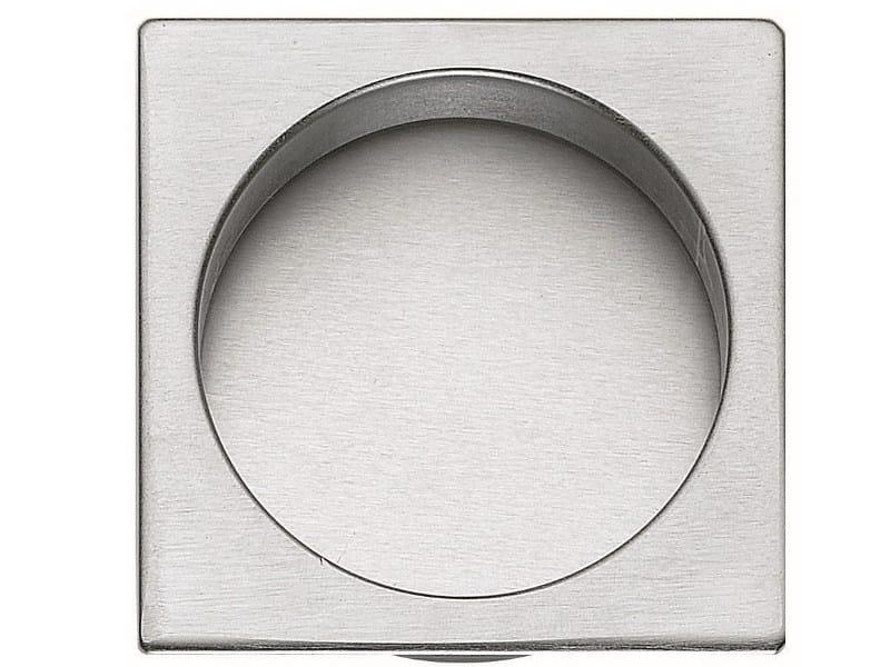 Recessed brass door handle KIT Q by Frascio