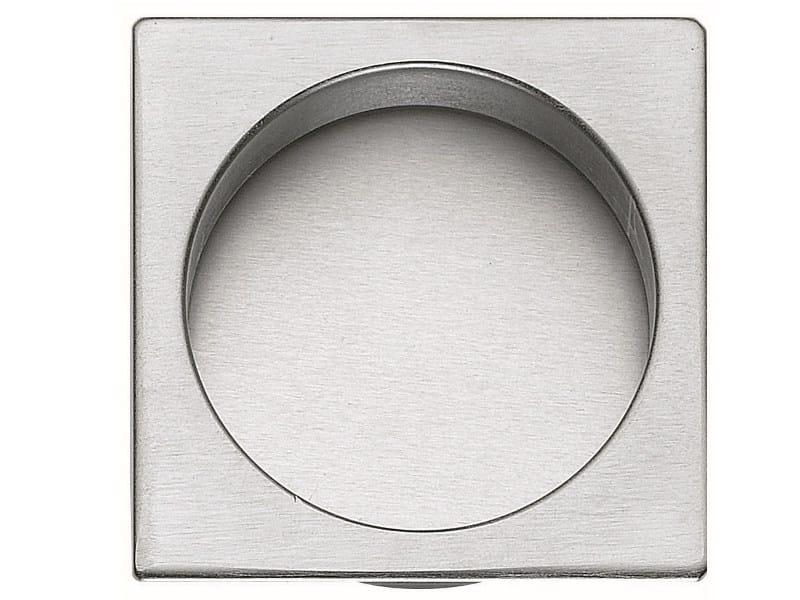 Recessed brass door handle KIT S by Frascio