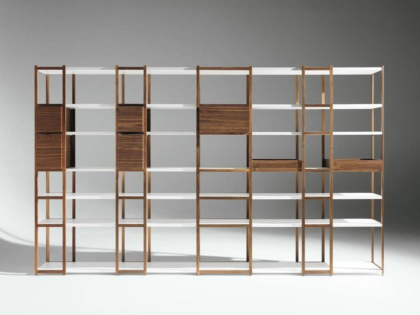 Modular bookcase '93-'08 by horm