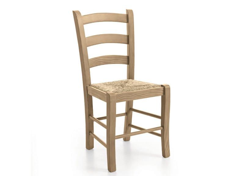 Straw chair PAESANA | Straw chair by Scandola Mobili