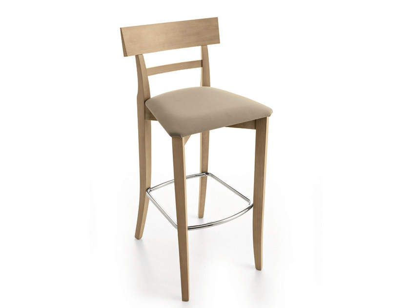 Upholstered chair with footrest MAESTRALE | Chair with footrest by Scandola Mobili