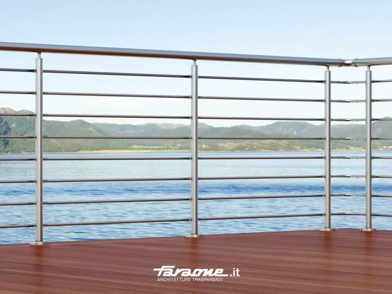 Aluminium Window railing PENTA by FARAONE