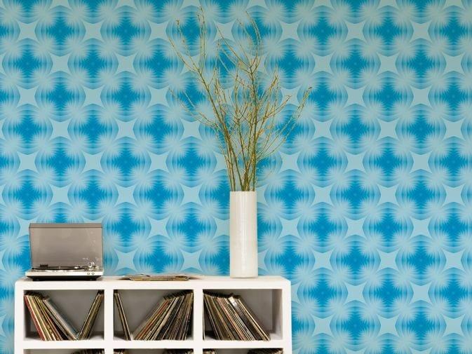 Optical vinyl wallpaper REALM by GLAMORA