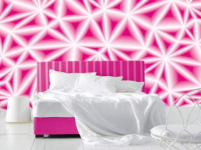 Optical vinyl wallpaper DAZZLE by GLAMORA