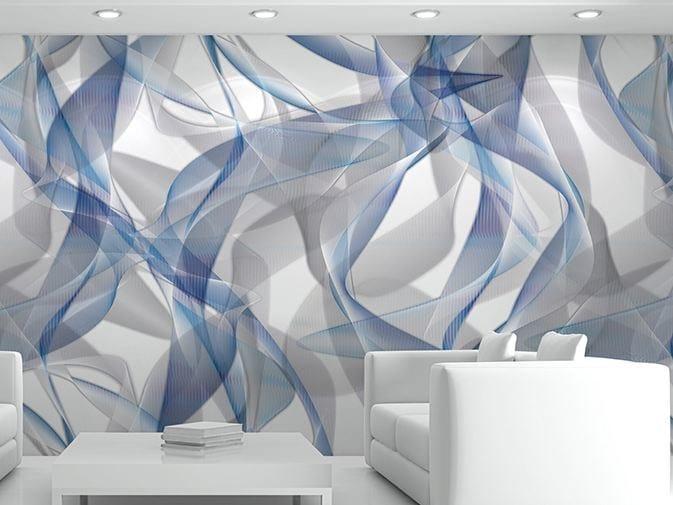 Carta Da Parati Giorgio Armani.Optical Vinyl Wallpaper Whisp By Glamora Design Karim Rashid