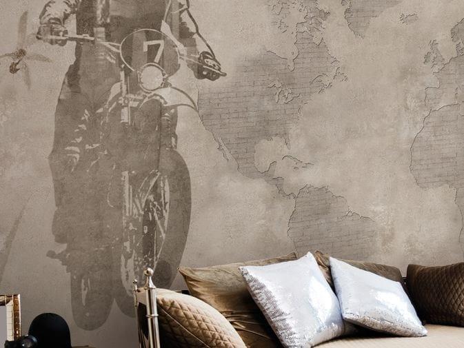 Vinyl wallpaper APPLAUSE by GLAMORA