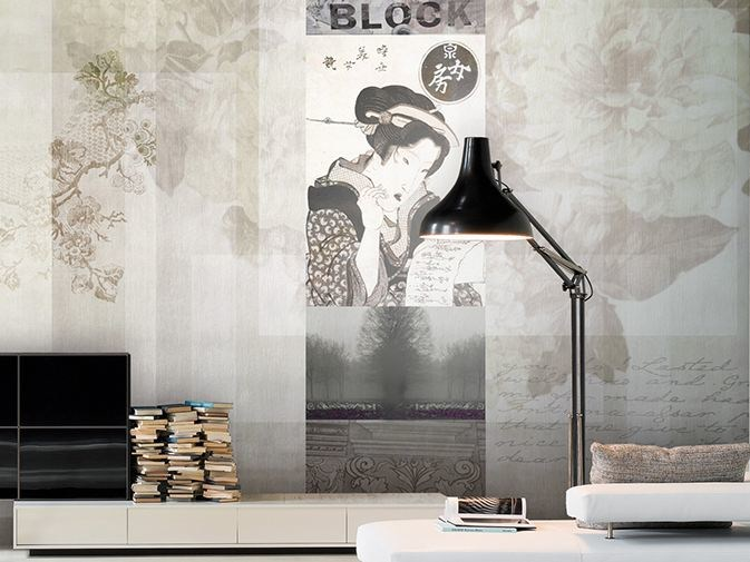 Vinyl wallpaper ALABASTER by GLAMORA