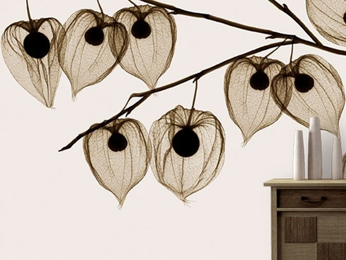 Vinyl wallpaper with floral pattern ASAKUSA by GLAMORA