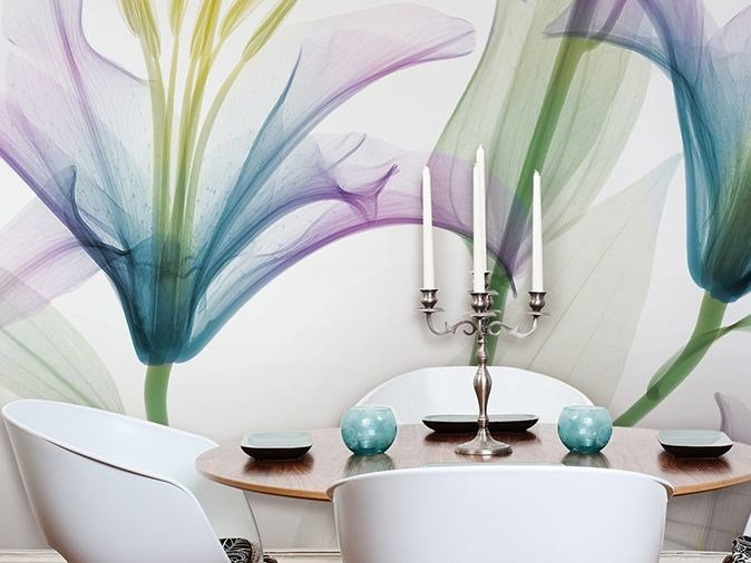 Vinyl wallpaper with floral pattern DANDY by GLAMORA