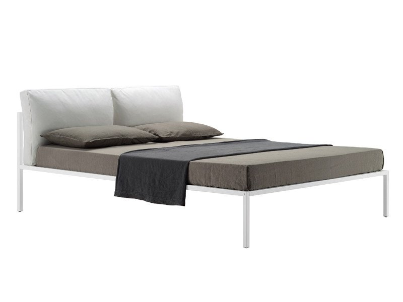 Bed Double Bed With Upholstered Headboard Nyx 1707 By Zanotta