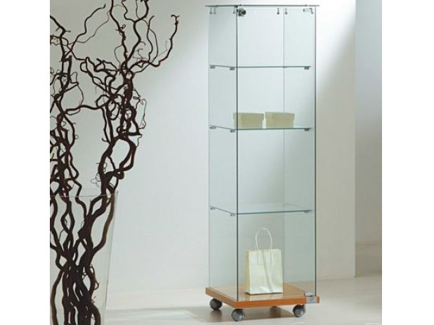 Retail display case with casters VE40140 | Retail display case by Castellani.it