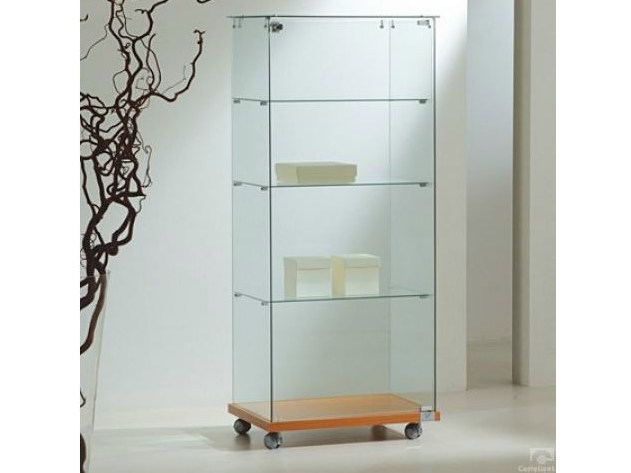 Retail display case with casters VE60140 | Retail display case by Castellani.it